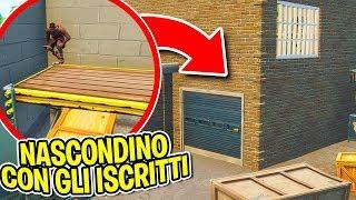 Fortnite ITA - NASCONDINO CON GLI ISCRITTI A CORSO COMMERCIO!