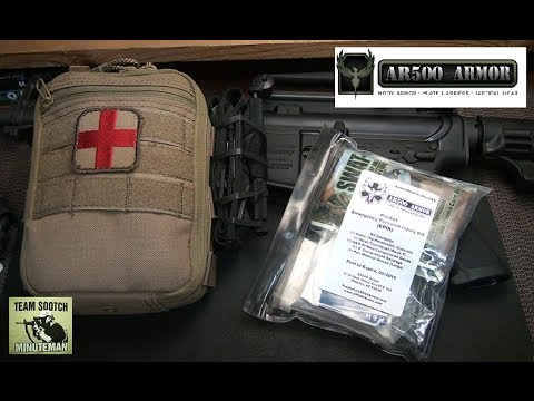 EPIK Trauma Kits AR500 Armor