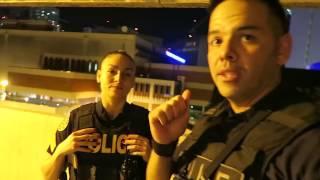 Видео блог сотрудника , полиция Майами , поиск  наркотиков и стрелка ( русские субтитры )