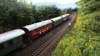 preview picture of video 'Dampflok 75 1118 auf der Geislinger Steige (Heimfahrt von Göppingen, Märklintage 2013)'