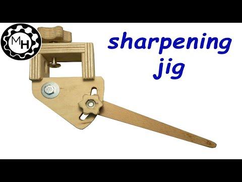 Wood Turning Chisel Sharpening Jig Formeremortals