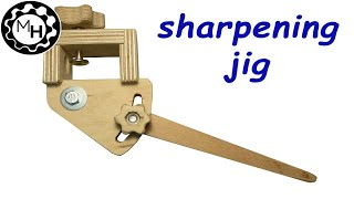 Homemade Sharpening Jig For Woodturning Tools Free Plans