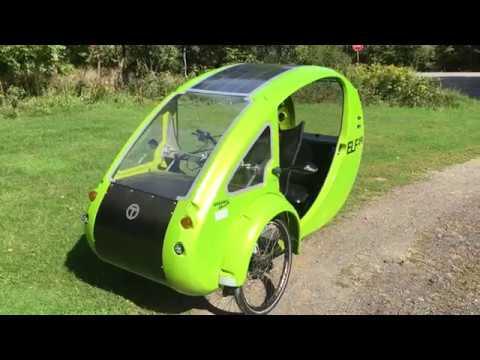 ELF trike test ride
