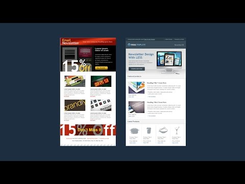Learn HTML and CSS3 by building a newsletter designed with LESS - Intro