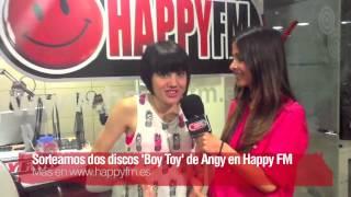 Sorteo 'Boy Toy' de Angy en HappyFM