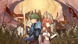 Fire Emblem Echoes - Dawn's Ark (World Map Chp.2 - Celica's Journey) arr. -