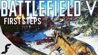 First steps! - Battlefield 5 Closed Alpha Gameplay