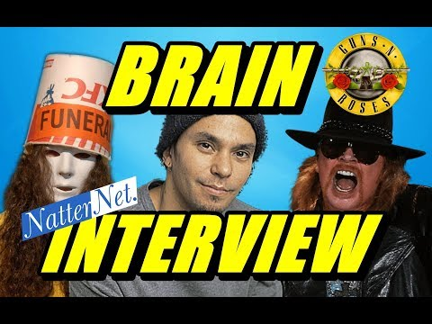 Brain talks about Buckethead, Axl Rose, Primus (Sept 2018)