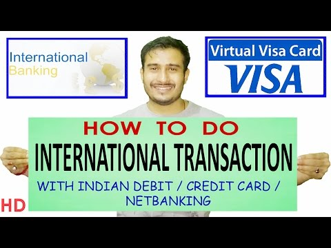 , title : 'How to create virtual debit card |  Online international transaction |  Entropay | Credit Card India