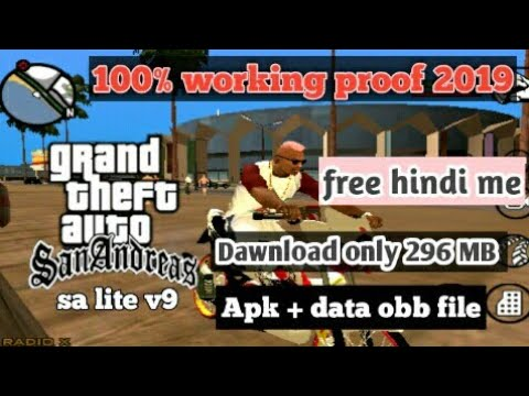 gta san andreas lite v9 apk data ▷▷ a c i