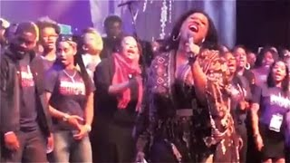 "Kierra Sheard and GEI Perform ""Hang On"""