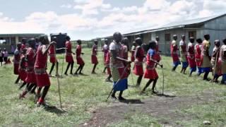 Summer in Kenya in Maasailand