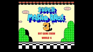 ...It's cold as hell...   (Super Mario Bros  3 - World 6, Part 2)   RVT Game Crew