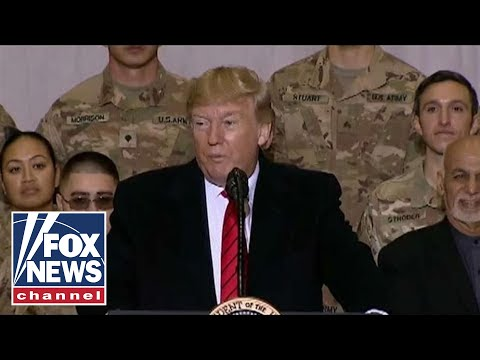 Trump ruins media smear tactics with surprise Thanksgiving trip to Afghanistan