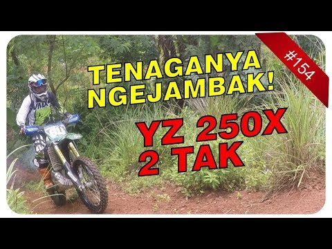 TEST RIDE YAMAHA YZ 250X 2 TAK & REVIEW BAN ENDURO CORSA (PART 1)