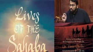 Lives of Sahaba 25 - Uthman b. Affan 5 - Assassination: Abu Dharr Al-Ghifari - Yasir Qadhi
