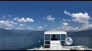 Bouncing Across Guatemala's Lake Atitlán
