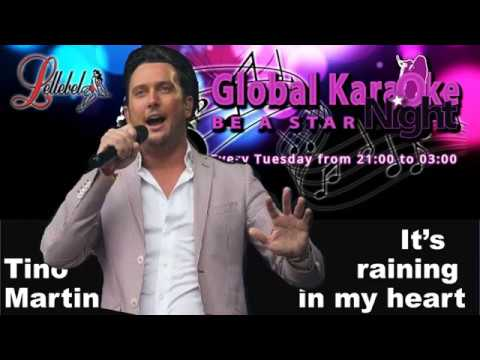 Tino Martin It's raining in my heart Karaoke