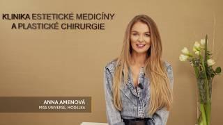 Anna Amenová o Klinike YES VISAGE