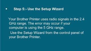 Fix Brother Printer Connection Failed Error ts-02