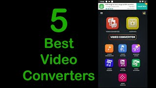 5 Best Video Converters for Android in 2020