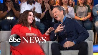 Melissa McCarthy and Richard E. Grant open up about