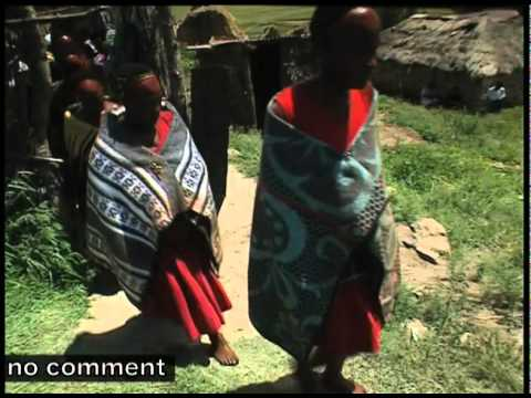 Traditional African Woman Basotho Women