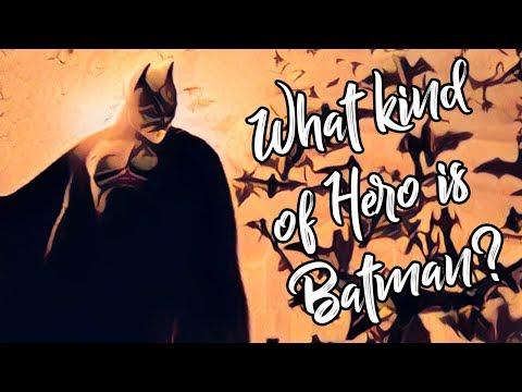 Jaký druh hrdiny je Batman – část první - Just Write