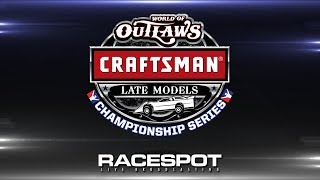 World of Outlaws Craftsman Late Model Championship Series | Round 11 at Dirt Track at Charlotte