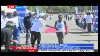 KTNLeo Wikendi: Mbio za Family Bank yaliandaliwa mjini Eldoret, Peres Jepchirchir ashinda upande wa