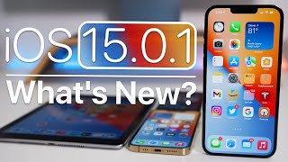 iOS 15.0.1 is Out! - What's New?