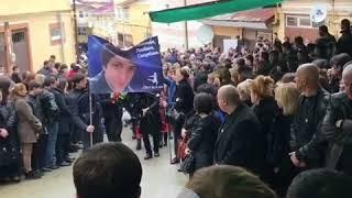 Похороны Лаши Беришвили
