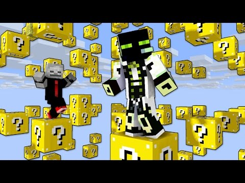 ÜBERALL FLIEGENDE LUCKY BLOCKS?! - Minecraft [Deutsch/HD]