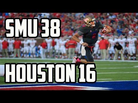 SMU Upsets Houston 38 to 16