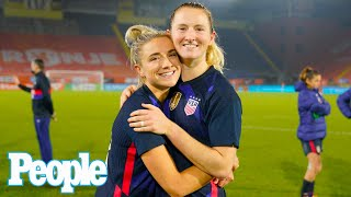 USWNT Stars & Sisters Kristie and Sam Mewis on Inspiring Each Other on Journey to Olympics | PEOPLE