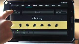 DrAmp   Android Guitar Amp   How To Use