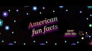 ASMR American Fun Facts Video, and a Relaxing Ice Coffee Recipe 3Dio Binaural Mic