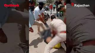 Rajasthan Cop Puts Knee On Man's Neck For Not Wearing Mask In Public