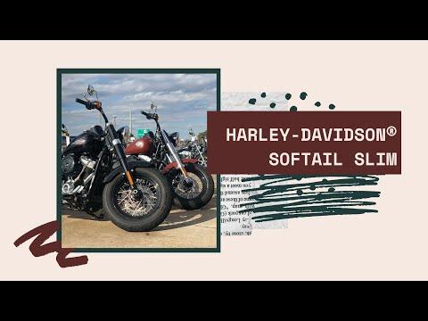 2019 HARLEY-DAVIDSON®  Softail® Slim<sup>®</sup>   FLSL