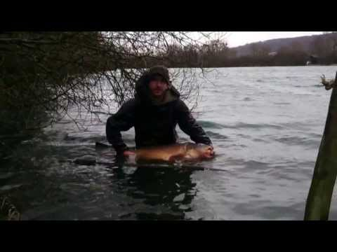 59lb 6oz VALLEELAKE Mirror Carp Feb 14'