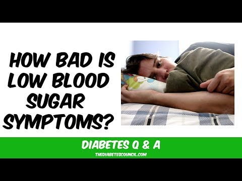 What Does Low Blood Sugar Feel Like?