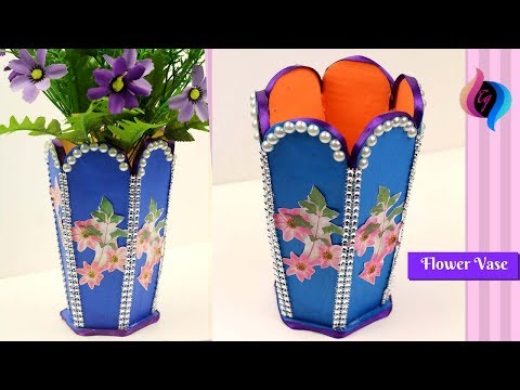 Diy Plastic Bottle Vase Plastic Bottle Recycling Ideas Flower