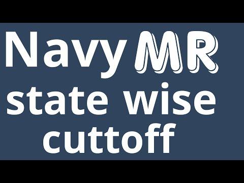 Navy cutoff 2019 | AA/SSR/MR