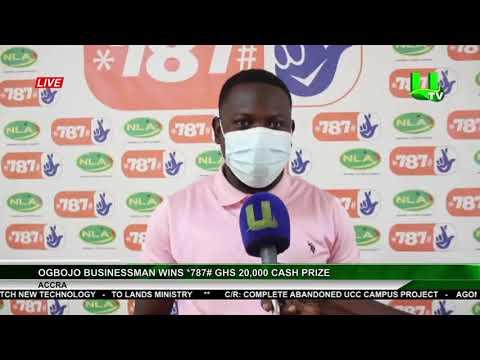 Ogbojo Businessman Wins *787# Ghs 20,000 Cash Prize