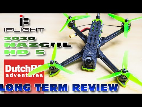 Long Term Review for the iFlight Nazgul5 HD + Betaflight tune
