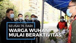 Warga Wuhan Kembali Beraktivitas Setelah Wabah Corona