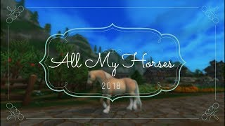 |Star Stable Online| All My Horses 2018