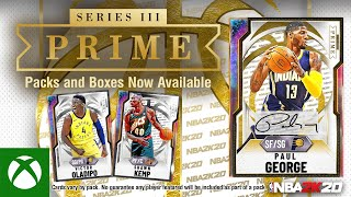 Xbox NBA 2K20 MyTEAM: Paul George PRIME Series III anuncio