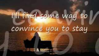 Is there Something  - Christopher Cross