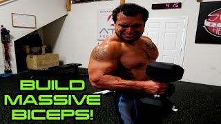 Advanced MASSIVE Biceps Workout | Size AND Strength! by Anabolic Aliens